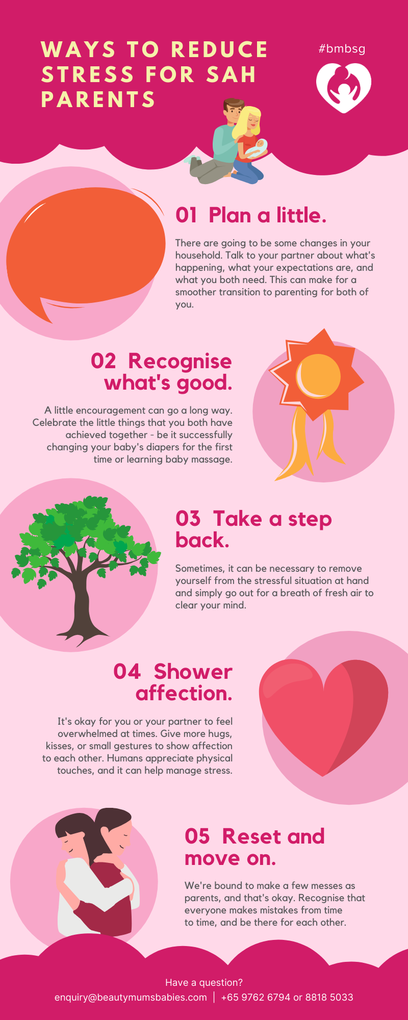 [INFOGRAPHIC] Ways To Reduce Stress for Stay-at-home Parents